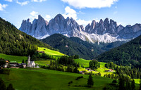 Dolomites, Italy - dramatic, vertical, ominous limestone mountains - Sept. 2015 (& 08 & 05)