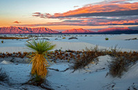 Sunrise at White Sands National Monument, New Mexico 4313