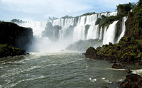 Iguazu Falls, Argentina - the greatest falls in the world - January 2008