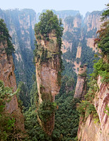 """Avatar Hallelujah Mountain,"" Zhangjiajie (location for Pandora in film Avatar) 0880"