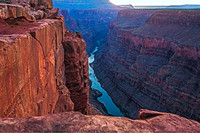 Toroweap, North Rim, Grand Canyon, looking upriver 05395