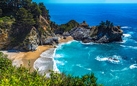 McWay Falls, Julia Pfeiffer Burns State Park 00284merge