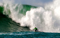 Breathtaking Mavericks Big-Wave Surfing Competition - January 2014