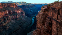 Toroweap, North Rim, Grand Canyon, looking downriver 05350